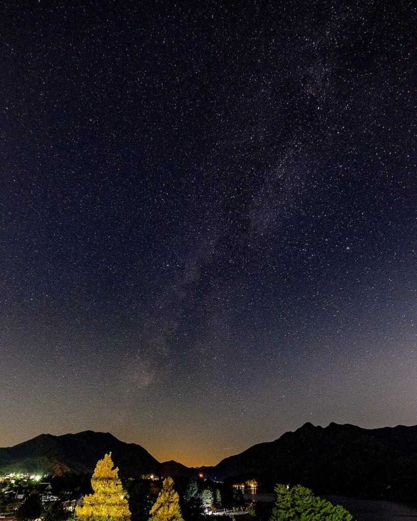 Milky way, Fuji